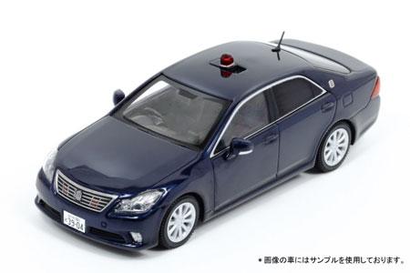 1/43 トヨタ クラウン (GRS202) 2014 大阪府警察高速道路交通警察隊車両 (紺)(大阪プラスチックモデル流通限定)[RAI'S]《発売済・在庫品》