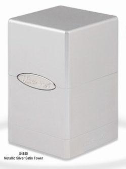 新タワー型サテンデッキボックス メタリック シルバー[Ultra・PRO]【送料無料】《在庫切れ》