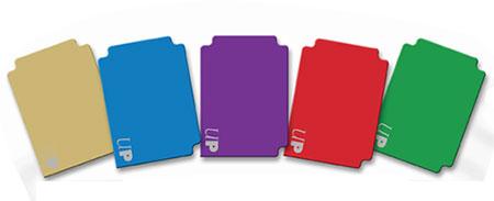 カード仕切り板 (5色各2枚セット)[Ultra・PRO]《在庫切れ》