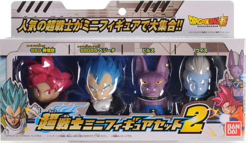 ドラゴンボール超 超戦士ミニフィギュアセット 2