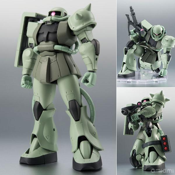 【中古】(本体A/箱B)ROBOT魂 〈SIDE MS〉 MS-06 量産型ザク ver. A.N.I.M.E. 『機動戦士ガンダム』[バンダイ]《発売済・在庫品》