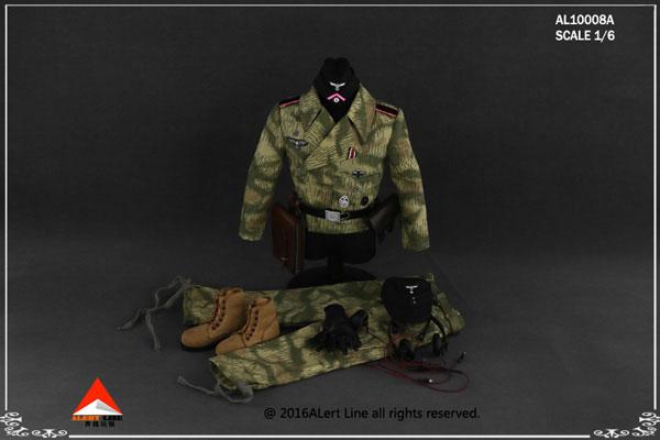 1/6スケール アウトフィットセット ドイツ国防軍 SS戦車部隊(AL10008A)(ドール用衣装)