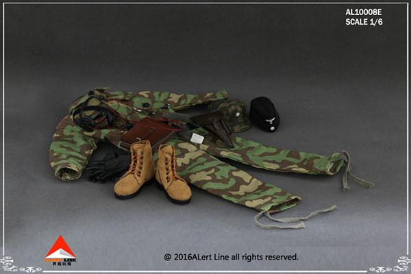 1/6スケール アウトフィットセット ドイツ国防軍 SS戦車部隊(AL10008E)(ドール用衣装)