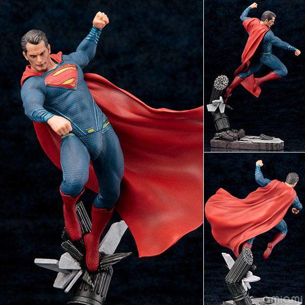 ARTFX+ バットマン vs スーパーマン ジャスティスの誕生 スーパーマン DAWN OF JUSTICE 1/10 完成品フィギュア[コトブキヤ]《在庫切れ》
