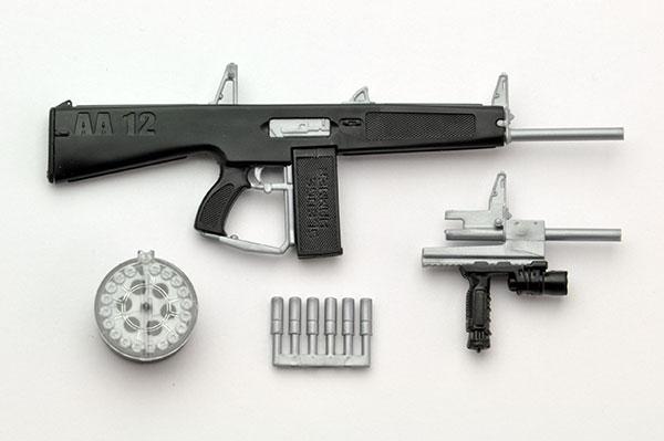 リトルアーモリー LA018 1/12 AA-12タイプ プラモデル(再販)[トミーテック]《在庫切れ》