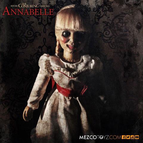 アナベル 死霊館の人形 プロップレプリカ ドール アナベル