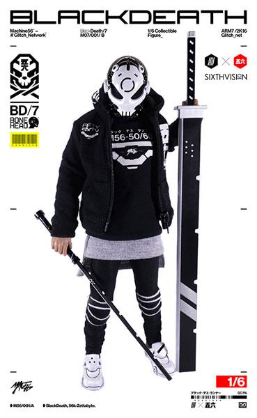 SIXTHVISION 1/6 コレクティブルフィギュア BONEHEAD ブラック・デス