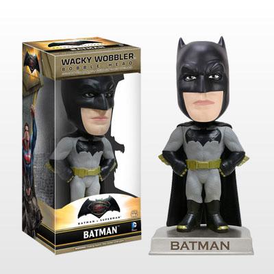 【ワッキーワブラー】『バットマン vs スーパーマン ジャスティスの誕生』バットマン[ファンコ]《在庫切れ》