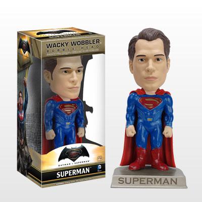 【ワッキーワブラー】『バットマン vs スーパーマン ジャスティスの誕生』スーパーマン[ファンコ]《在庫切れ》