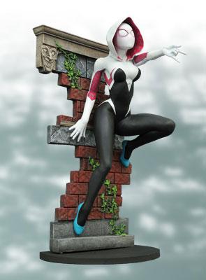 『マーベル・コミック』PVCスタチュー【ファム・ファタール】スパイダー・グウェン[ダイアモンドセレクト]《在庫切れ》