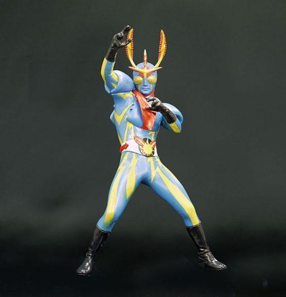 SUPER HERO SOFT VINYL MODEL KIT COLLECTION イナズマン 1/8 未塗装組立キット