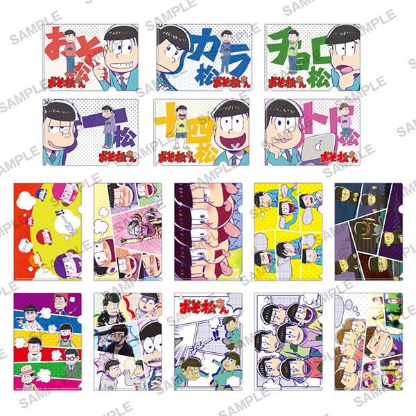 おそ松さん ぷちクリアファイルコレクション 8個入りBOX[KADOKAWA]《在庫切れ》
