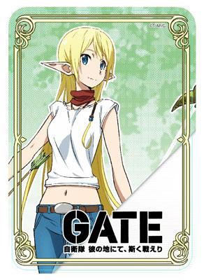 GATE 自衛隊 彼の地にて、斯く戦えり テュカ・ルナ・マルソー マウスパット[アクセルグラフィックワークス]《在庫切れ》