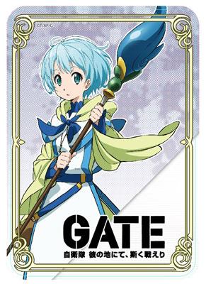 GATE 自衛隊 彼の地にて、斯く戦えり レレイ・ラ・レレーナ マウスパット[アクセルグラフィックワークス]《在庫切れ》