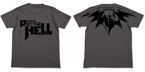 新機動戦記ガンダムW Endless Waltz デスサイズヘル Tシャツ/ミディアムグレー-L(再販)[コスパ]《08月予約》