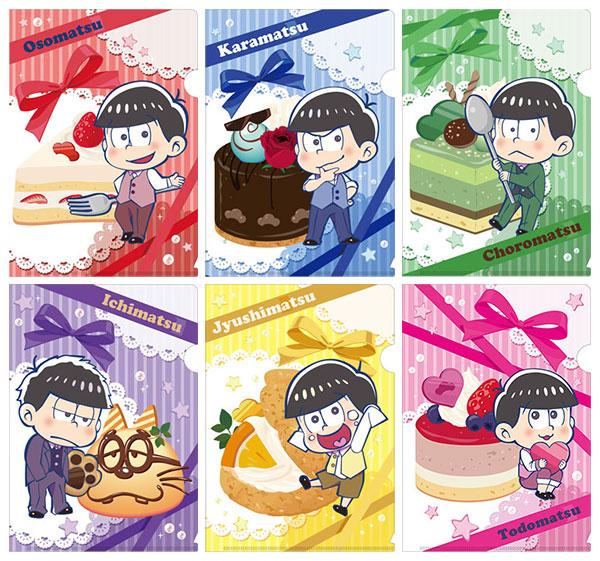 おそ松さん とじコレ ミニクリアファイル 7個入りBOX[ツインクル]《在庫切れ》