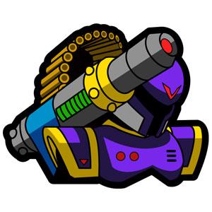 ロックマンX 刺繍PATCH VAVA[カプコン]《在庫切れ》