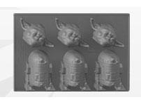 『スター・ウォーズ』【ホーム&キッチン】「アイストレー」ヨーダ&R2-D2[アンダーグラウンド・トイズ]《在庫切れ》