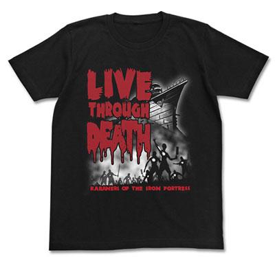 甲鉄城のカバネリ Tシャツ/ブラック-XL(再販)[コスパ]《在庫切れ》