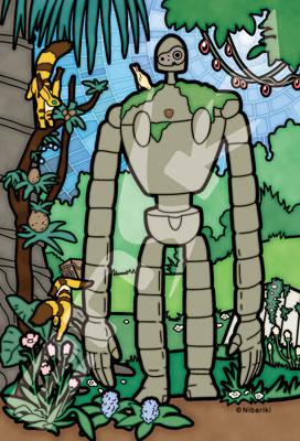 アートクリスタルジグソー 天空の城ラピュタ 空中庭園の守り手 126ピース(126-AC35)[エンスカイ]《在庫切れ》