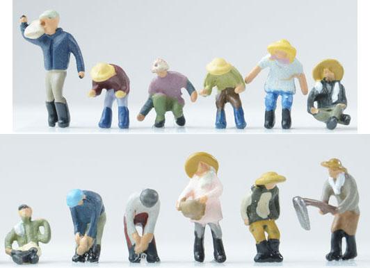 情景コレクション ザ・人間 109 農家の人々(再販)[トミーテック]《発売済・在庫品》