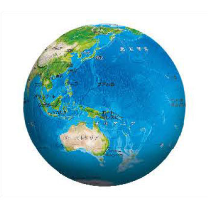 3D球体パズル 天体 地球儀-THE EARTH-(2003-474)[やのまん]《在庫切れ》