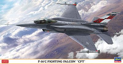 """1/48 F-16C ファイティングファルコン""""CFT"""" プラモデル[ハセガワ]《取り寄せ※暫定》"""