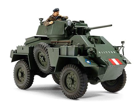 1/48 ミリタリーミニチュアシリーズ No.87 イギリス 7トン4輪装甲車 Mk.IV プラモデル[タミヤ]《在庫切れ》