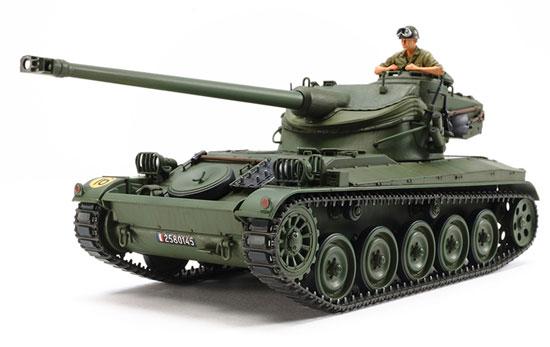 1/35 ミリタリーミニチュアシリーズ No.349 フランス軽戦車 AMX-13 プラモデル