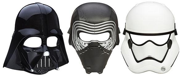 スター・ウォーズ/フォースの覚醒 マスク アソート 3種各2個入りアソート