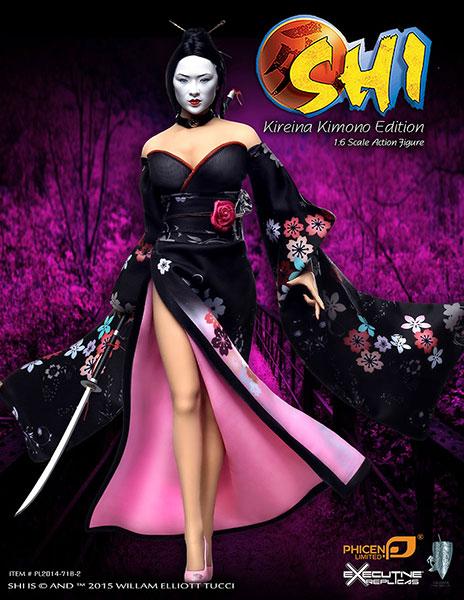 1/6 アクションフィギュア SHI 死:Shi in Kimono U.S.Ver.