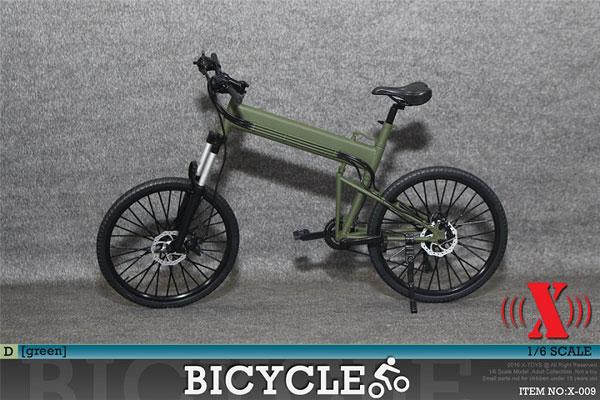 1/6 折りたたみ XTB 自転車 (グリーン)