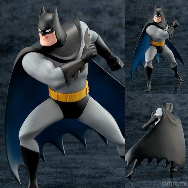 ARTFX+ DC UNIVERSE バットマン アニメイテッド 1/10 完成品フィギュア[コトブキヤ]《発売済・在庫品》