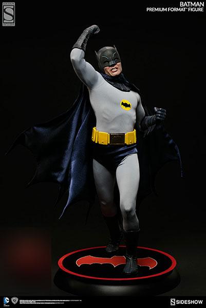 『バットマン 1966年TVシリーズ』【プレミアム・フォーマット・フィギュア】バットマン[サイドショウ]【送料無料】《在庫切れ》