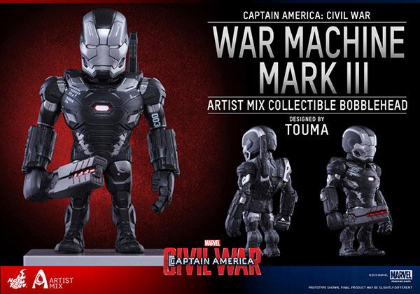 【アーティストMIX】 『シビル・ウォー/キャプテン・アメリカ』 TOUMA x ウォーマシン・マーク3