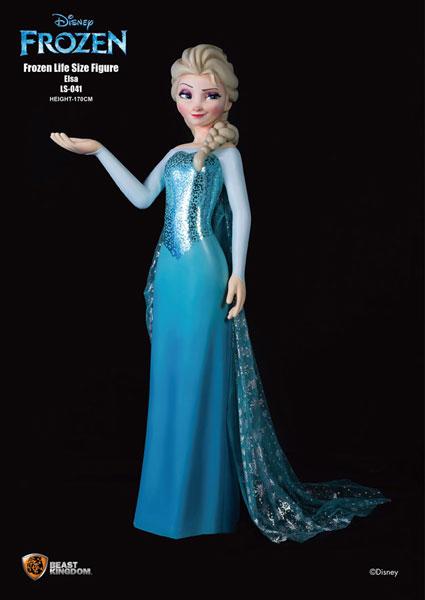 【ディズニー等身大コレクション】『アナと雪の女王』エルサ