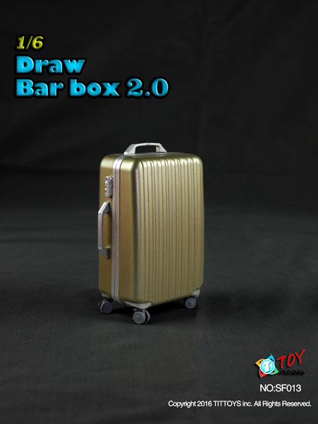 1/6 スーツケース 2.0 ゴールド[TITトイズ]《取り寄せ※暫定》