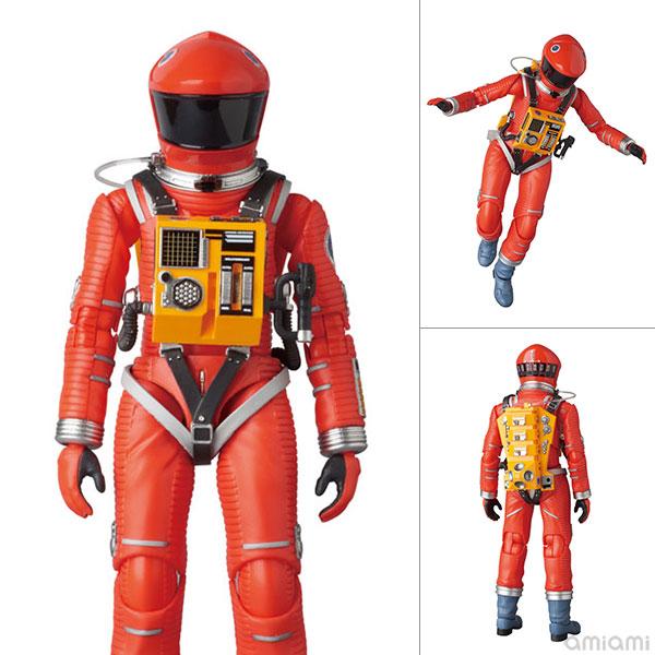 マフェックス No.034 MAFEX SPACE SUIT ORANGE Ver. 「2001: a space odyssey」より(再販)[メディコム・トイ]《在庫切れ》