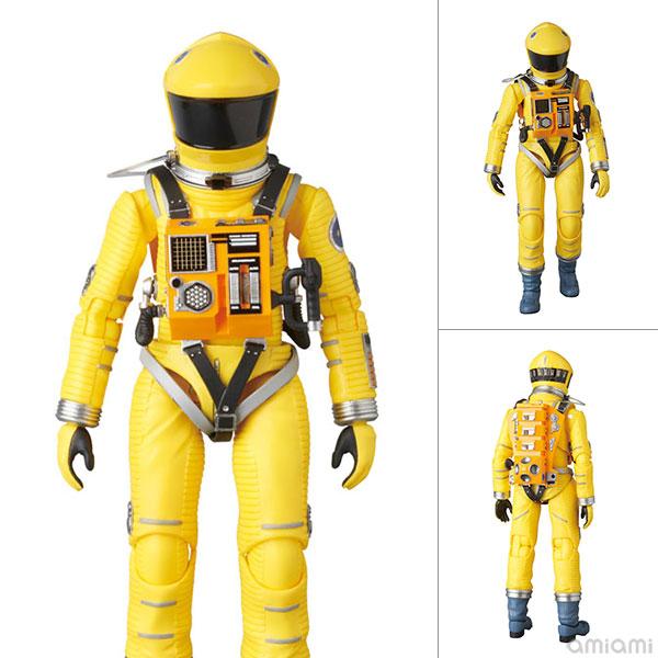マフェックス No.035 MAFEX SPACE SUIT YELLOW Ver. 「2001: a space odyssey」より(再販)[メディコム・トイ]《在庫切れ》