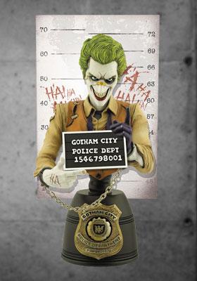 DCコミックス ミニバスト 「逮捕記録ショット」 #02 ジョーカー[クリプトゾイック]《在庫切れ》