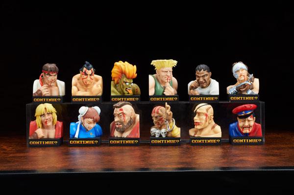 STREET FIGHTER II トレーディングフィギュア 負け顔コレクション Vol.1 12個入りBOX[エンブレイスジャパン]《在庫切れ》