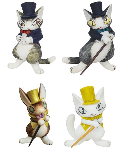 【特典】猫のダヤン フィギュアコレクション 3 4個入りBOX[441LABO]【送料無料】《在庫切れ》