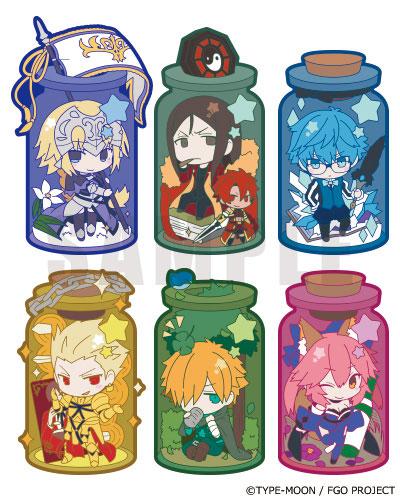 きゃらとりあ Fate/Grand Order Vol.2 6個入りBOX(再販)[アルジャーノンプロダクト]《07月予約》