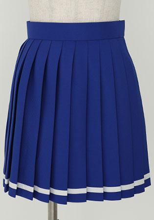 ハイスクール・フリート 横須賀女子海洋学校制服 スカート/レディース-XL(再販)[コスパ]【送料無料】《在庫切れ》
