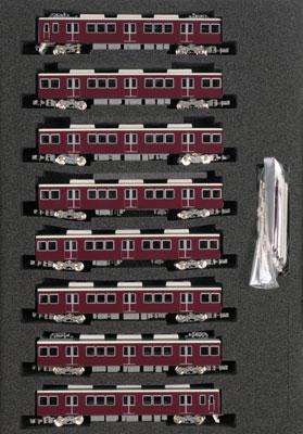 30147 完成品 阪急8300系「京都線」3次車 シングルアームパンタ車8輛編成セット(動力付き)[グリーンマックス]【送料無料】《在庫切れ》