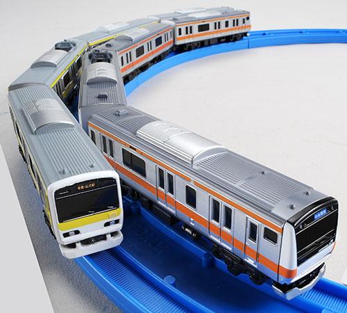プラレールアドバンス E231系総武線&E233系中央線ダブルセット[タカラトミー]《在庫切れ》