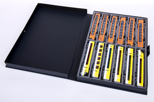 YP-808 21m級対応 12両用車両ケース ブラック(再販)[CASCO]《03月予約》