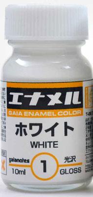 エナメルカラーシリーズ GE001 ホワイト[ガイアノーツ]《在庫切れ》