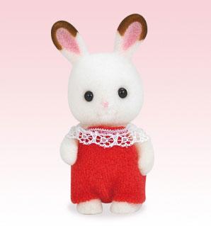 シルバニアファミリー 人形 ショコラウサギ 赤ちゃん[エポック]《在庫切れ》