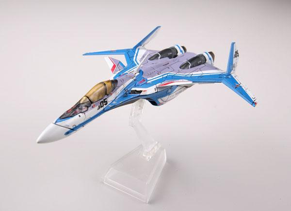 マクロスモデラーズ×技MIX マクロスΔ 技MCR10 VF-31J ジークフリード ハヤテ機 ファイターモード プラモデル